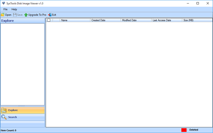 E01 Image Viewer Software