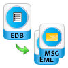 Recover Exchange Database as EML, MSG