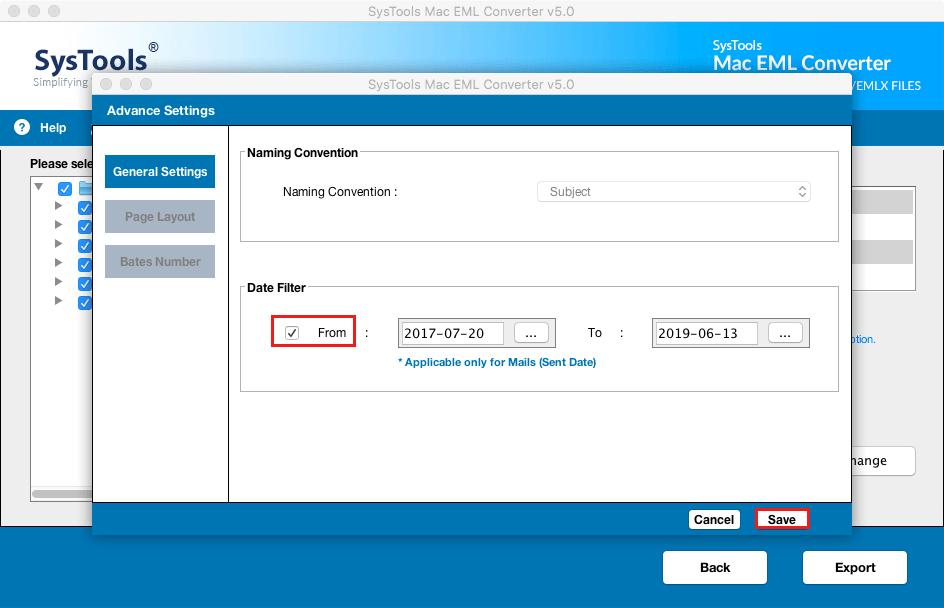 Date Filter