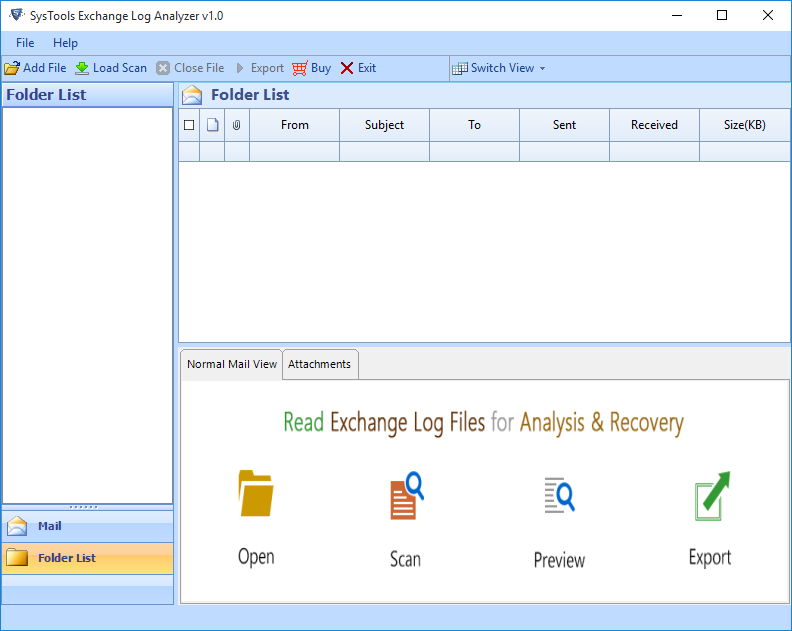 Edb.log Viewer Software