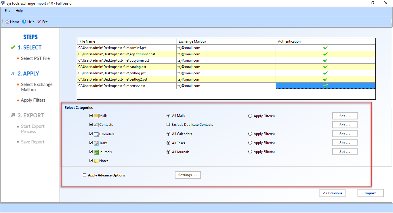 FreeViewer Exchange Import/Export Tool
