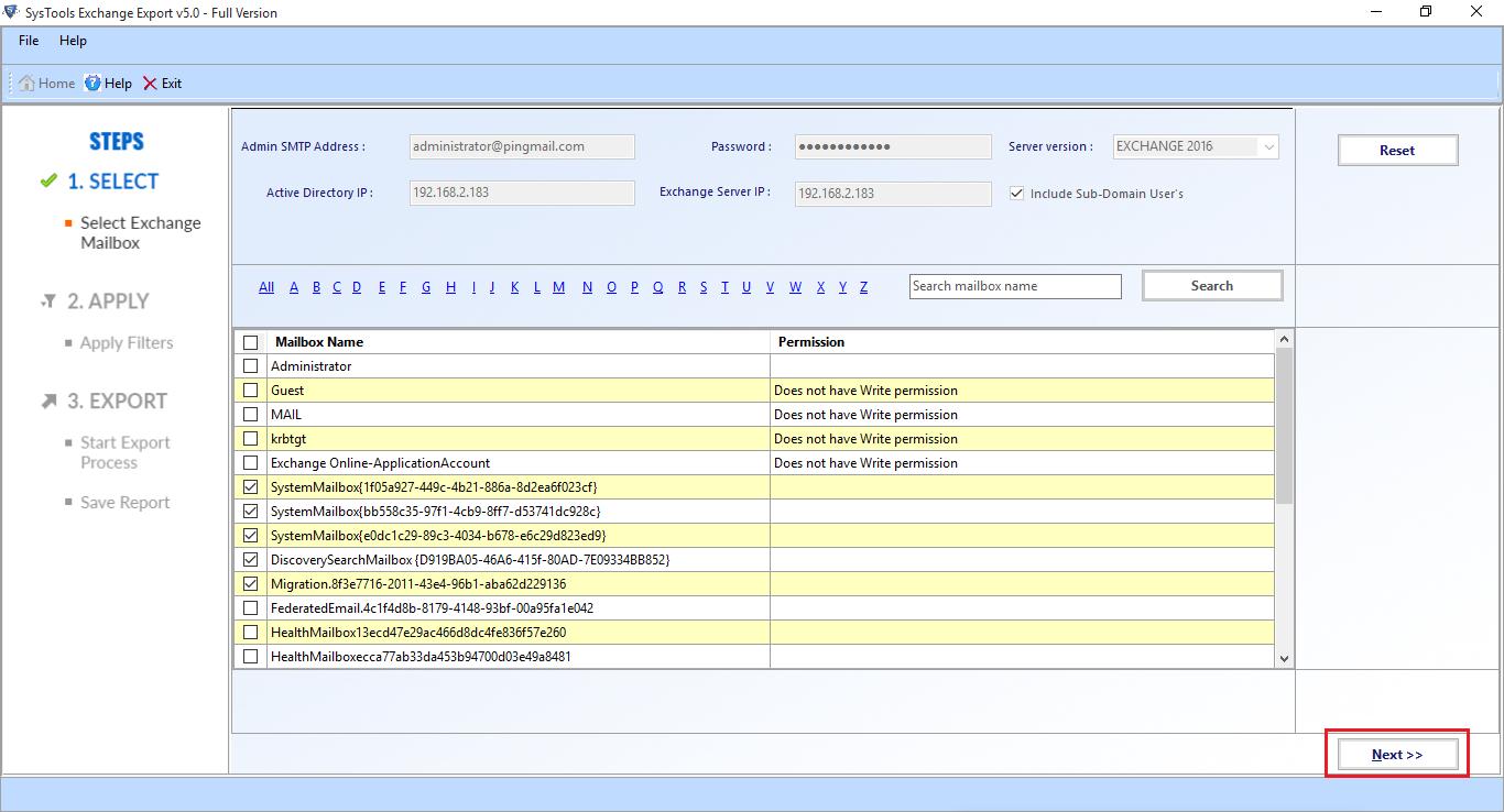 Active Directory Details