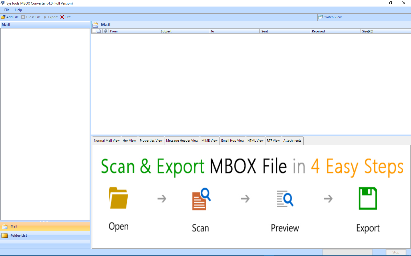 1. Export Postbox Emails to PDF Tool