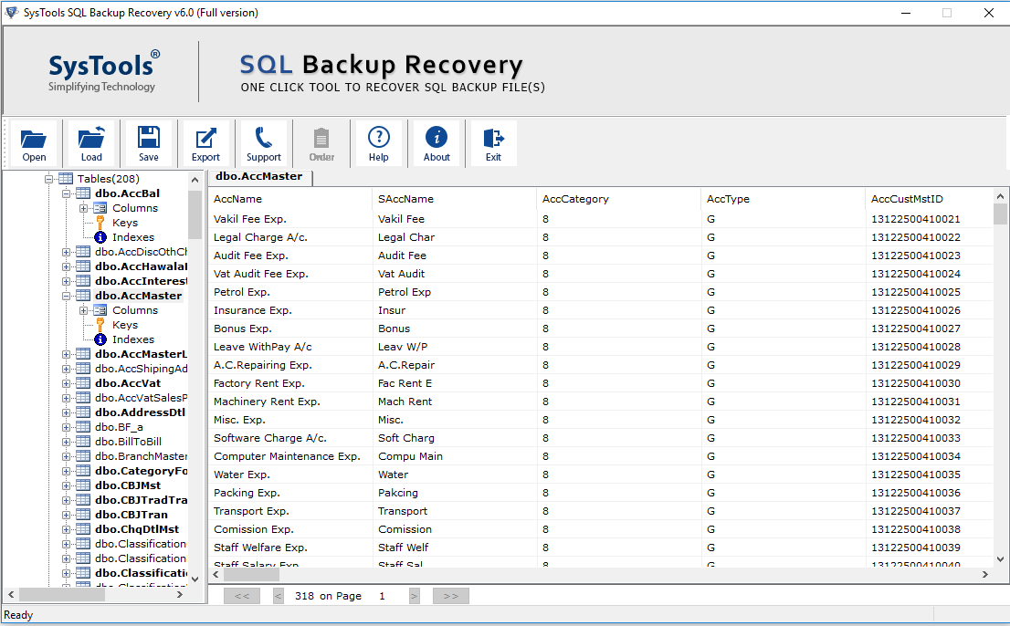 Preview Recovered Records