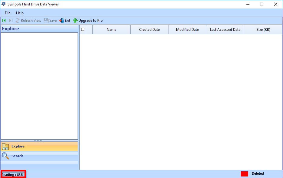 Scan Hard Drive File