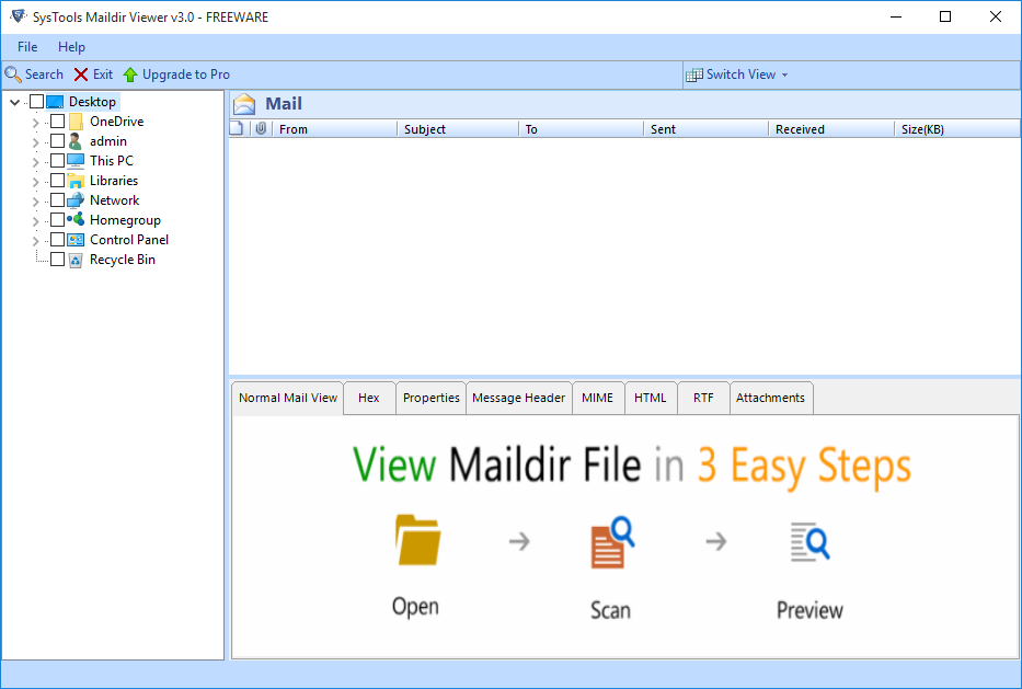 Free Maildir Reader Tool