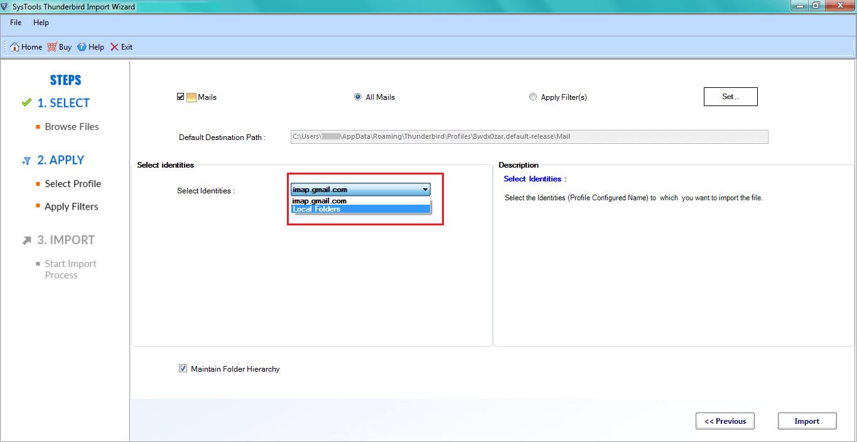 Apply Date Filter