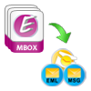 Export MBOX to PST