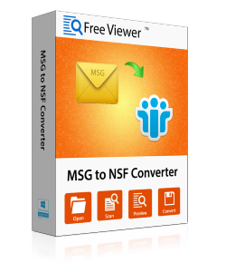 Free MSG to NSF Converter