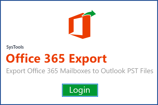 Office 365 exporter main screen