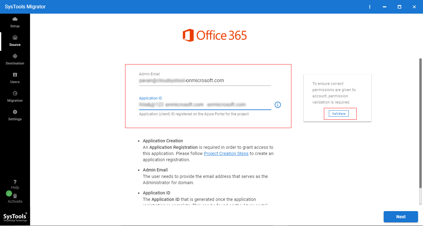 Office 365 Express Migration Tool