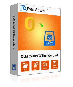 Free OLM to Apple Mail, Thunderbird Converter