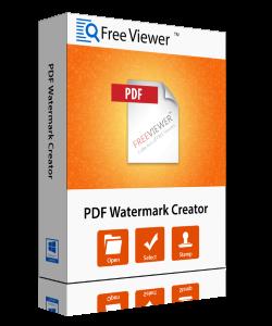 FreeViewer PDF Watermark Creator/Remover Tool