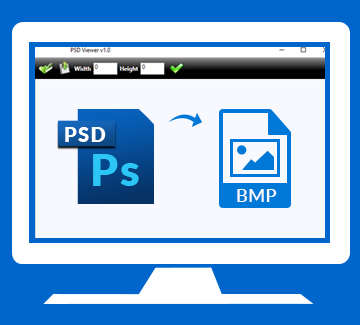 PSD to BMP Converter