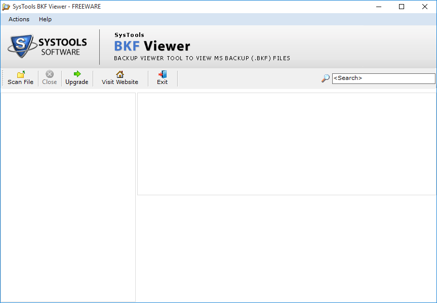 BKF Viewer Software