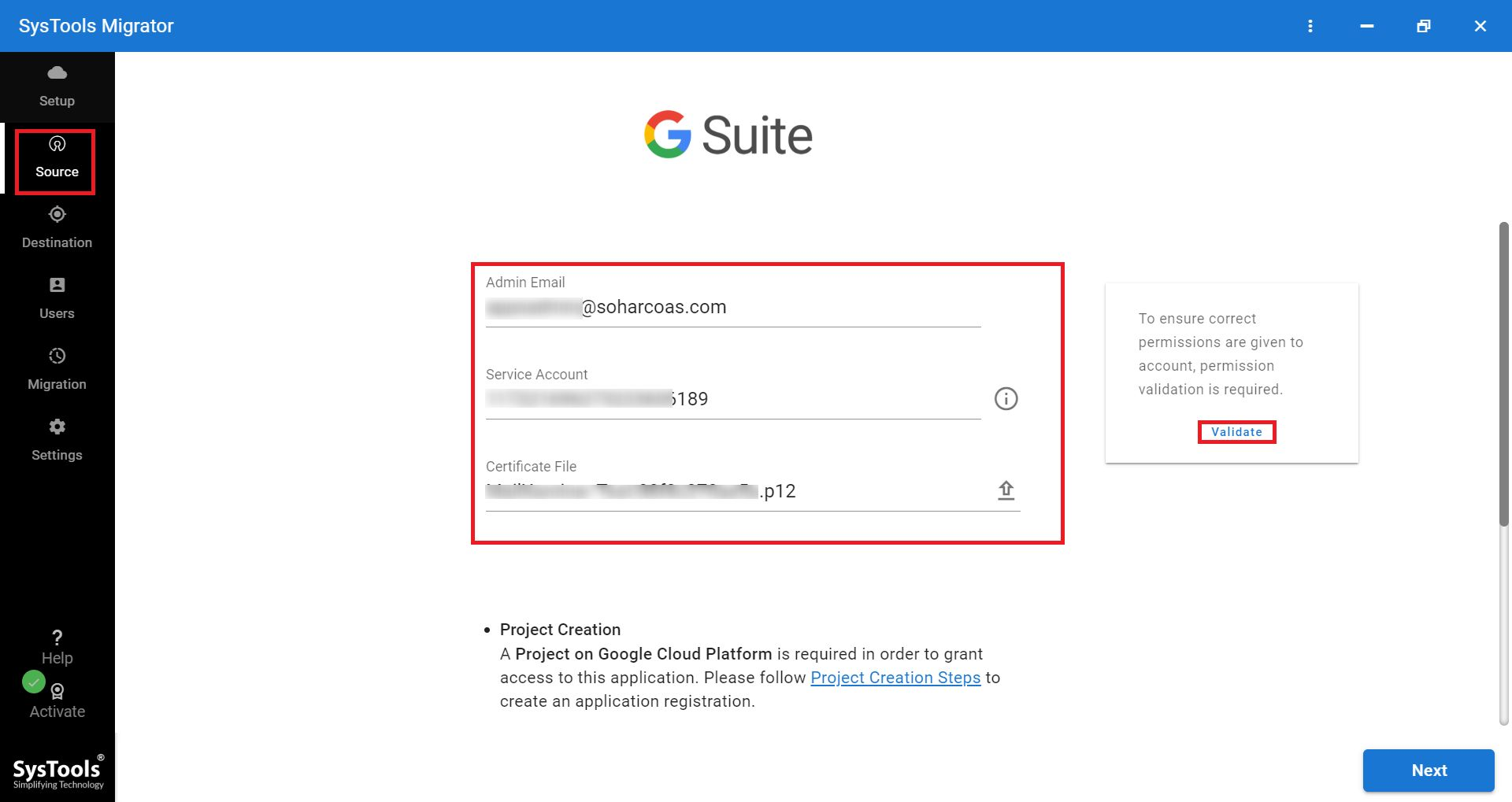 Add details for G Suite