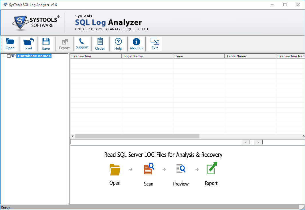 SQL Log Analyzer Tool