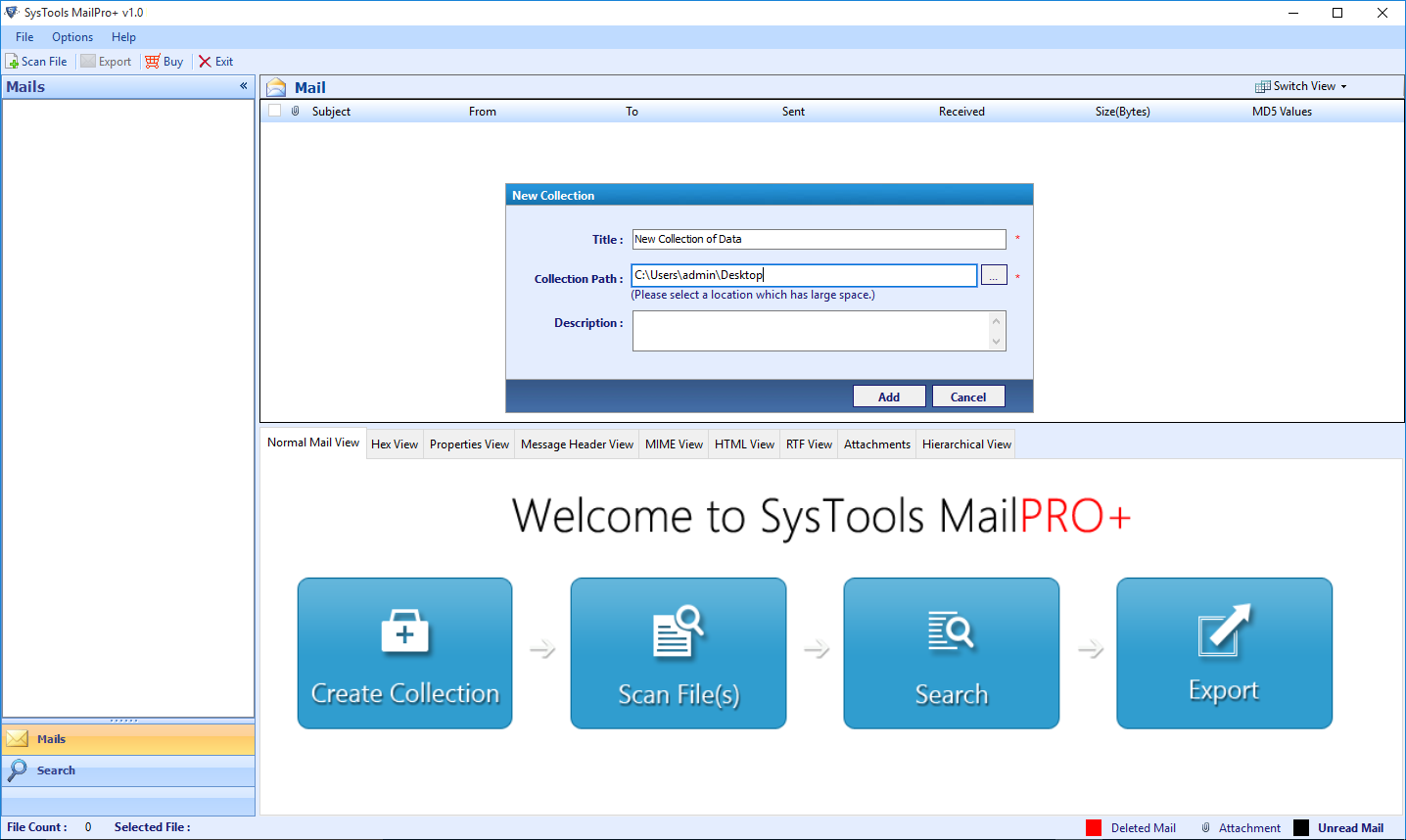FreeViewer MailPro+ Email Converter
