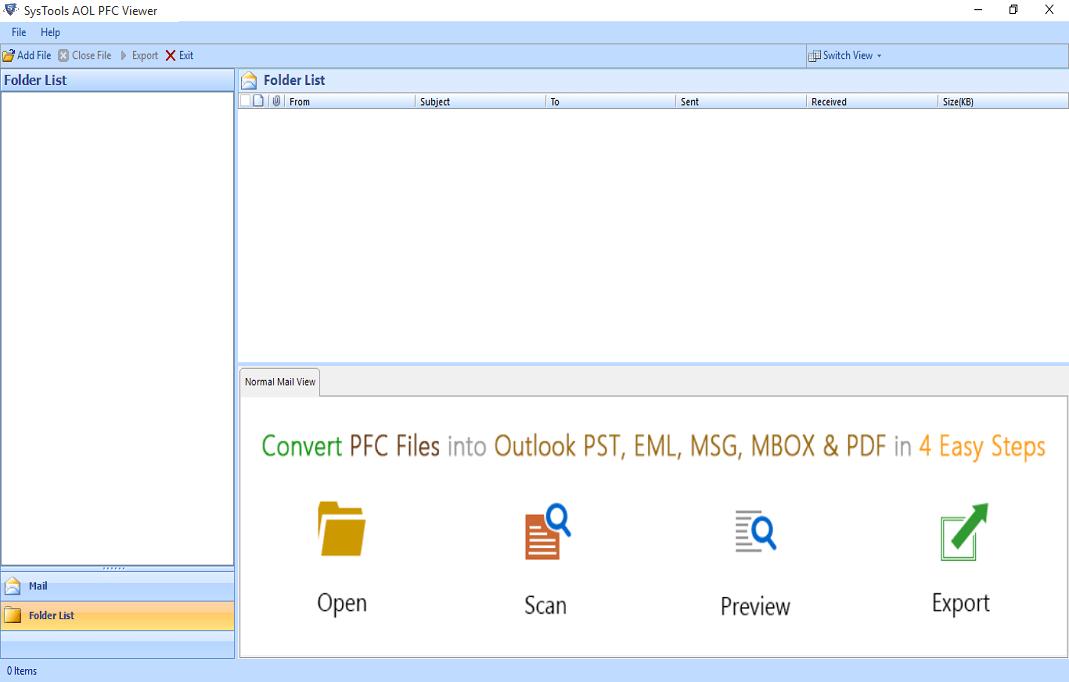 PFC File Reader