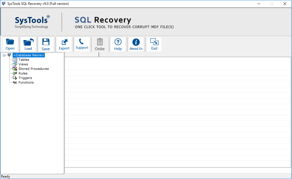 SQL Server Recovery Tool
