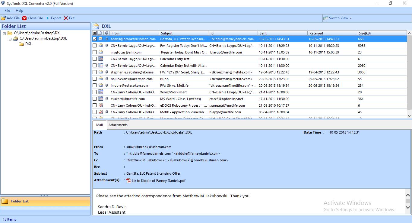 Add DXL File