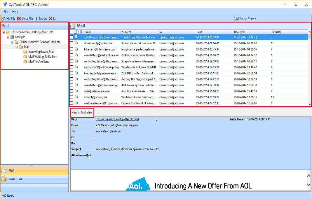 FREE PFC File Viewer To Open, Read & View PFC Files