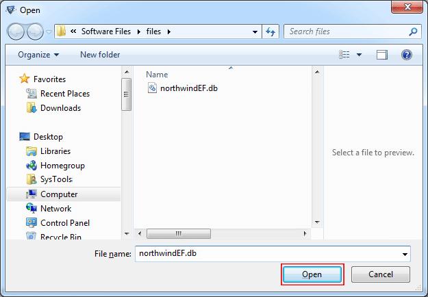Add SQLite File