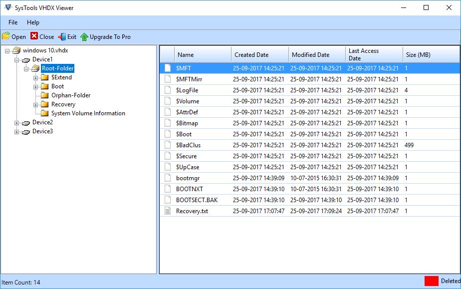 Read VHDX File