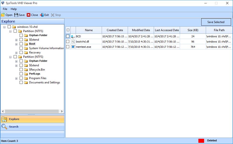 FreeViewer VHDX Viewer Pro