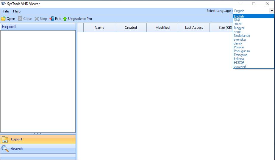 VHD Viewer Tool
